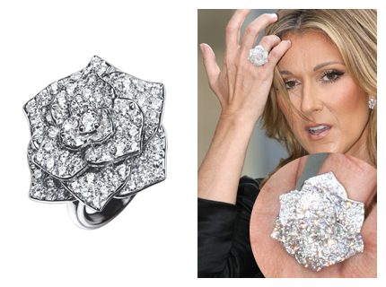 celine dion s ring pictures to pin on pinterest pinsdaddy